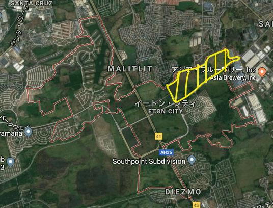 ノアシティの建設予定区域