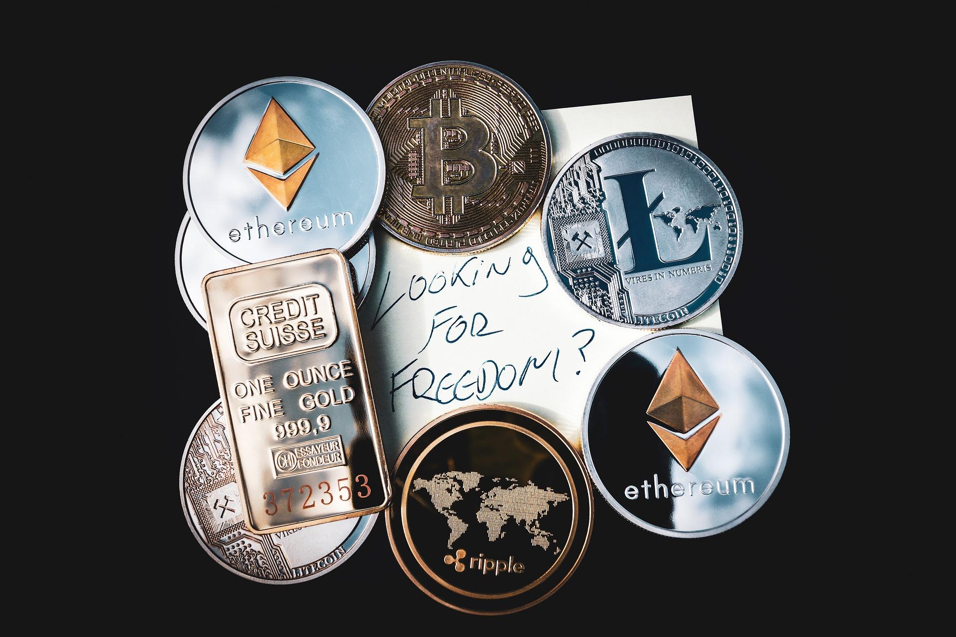 仮想通貨のロゴ