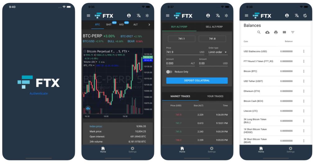 FTXスマホアプリ